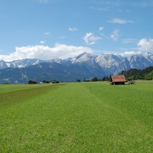 Berge und Seen Umgebung