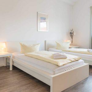 Hotel Pension Wess Doppelzimmer Einzelbetten