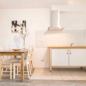 Hotel Pension Wess drei Schlafzimmer Essbereich Küche